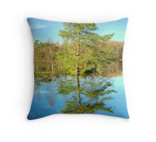 Reflections of a Scots Pine Throw Pillow