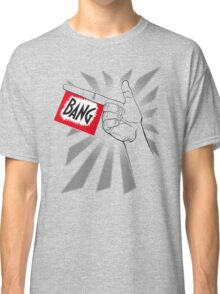 Toy Bang Hand with flag Classic T-Shirt