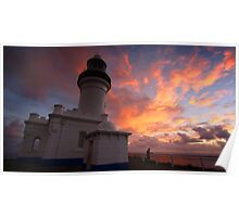 Byron Bay Sunrise Poster