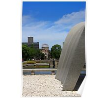 Hiroshima's Peace Monuments Poster