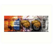 100 Brains Art Print