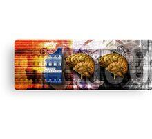 100 Brains Canvas Print