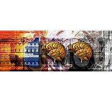 100 Brains Photographic Print