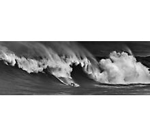 Sunny Garcia At Waimea Bay 2011 Photographic Print