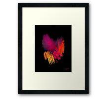 My Fractal Heart Framed Print