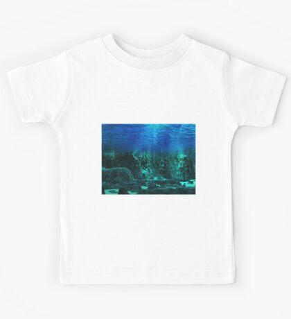 Underwater Landscape Kids Tee