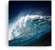 Winter Waves At Pipeline 15 Canvas Print