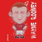 Wayne Rooney World Cup England by alexsantalo