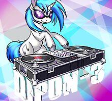 DJ PON-3 by StrachAttack