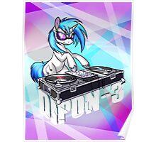 DJ PON-3 Poster