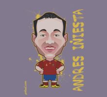 Andres Iniesta World Cup Spain by alexsantalo