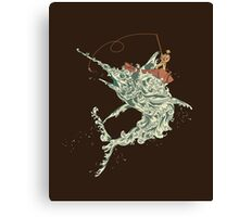 Cold Blooded Ocean Canvas Print