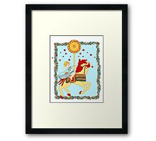 The Tarot Sun  Framed Print