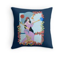 The Tarot Magician Throw Pillow