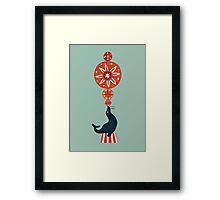 Circus Seal Framed Print