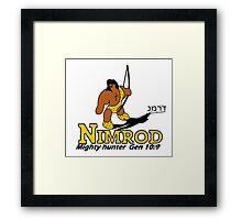 NIMROD - THE HUNTER Framed Print