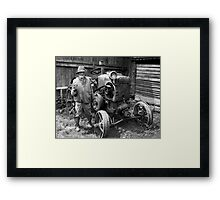 Old Friends Framed Print