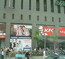 Bejing - Kentucky Fried Chicken  by Roz Fayette