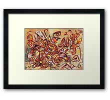 Lucky one Framed Print