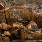 Grafitti on the Rock by Patito49