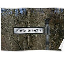 The way to Amstetten Poster