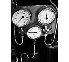 Old gauges Photographic Print