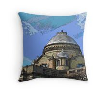 """""""Wilkes-Barre Court House"""" Throw Pillow"""