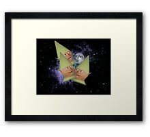 Three Elf Moon Framed Print
