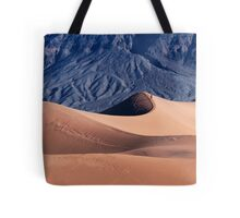 Sunrise over Mesquite Flat Sand Dunes Tote Bag