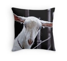 Goatic Beauty Throw Pillow