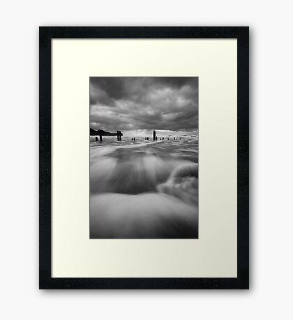 The Surge Framed Print