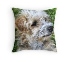 Rrrrrrrufff! Throw Pillow