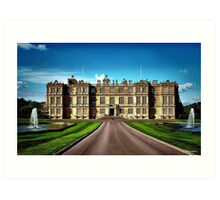Longleat House-Wiltshire-England Art Print