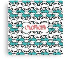 Cynophobia Canvas Print