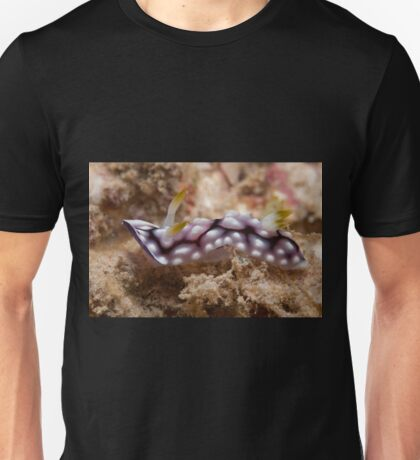 Chromodoris geometrica, Kapalai, Sabah, Malaysia Unisex T-Shirt