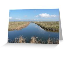 Cliffe Ditch Greeting Card