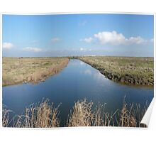 Cliffe Ditch Poster