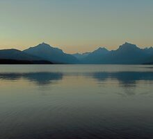 Lake McDonald Sunset by Susan Russell