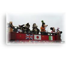 MICKEY AND FRIENDS Canvas Print