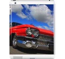 Red Caddy iPad Case/Skin