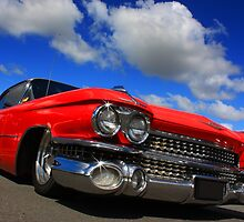 Red Caddy by Keith Hawley