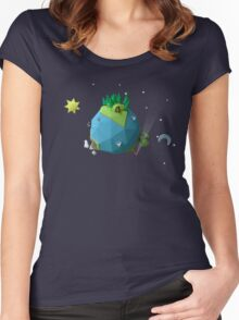 Little Planet Women's Fitted Scoop T-Shirt