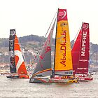 Abu Dhabi. Volvo Ocean Race team 2015. Lisbon. Portugal by terezadelpilar~ art & architecture