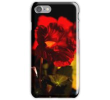 Backlit Nasturtium iPhone Case/Skin