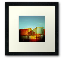 containerville Framed Print