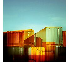 containerville Photographic Print