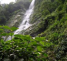 Honduran Water Fall by KAVU