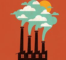 The cloud factory by Budi Kwan