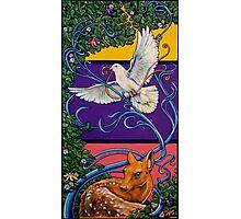 Springtime Art Nouveau Photographic Print