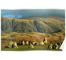 Castlerigg Stone Circle Lake District Poster